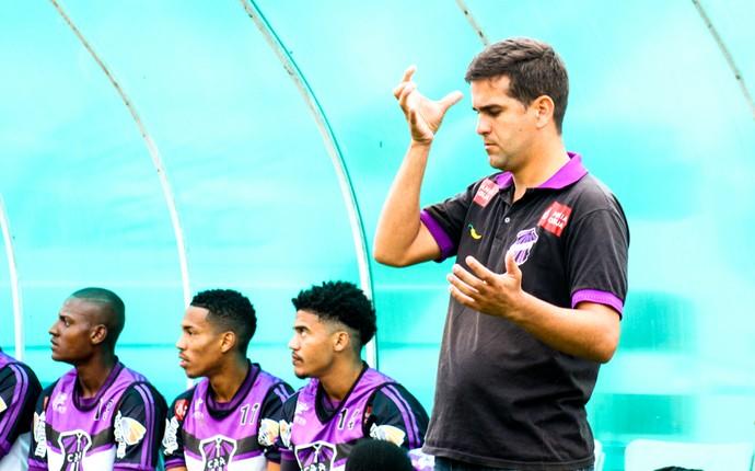 Rafael Soriano, Campos x Nova Iguaçu (Foto: Carlos Grevi)