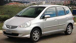 Honda Fit 2008 (Foto: Autoesporte)