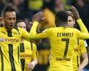 Dortmund goleia Leverkusen, e Aubameyang assume artilharia