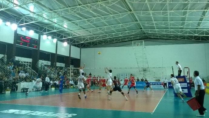 superliga vôlei juiz de fora campinas (Foto: Roberta Oliveira)