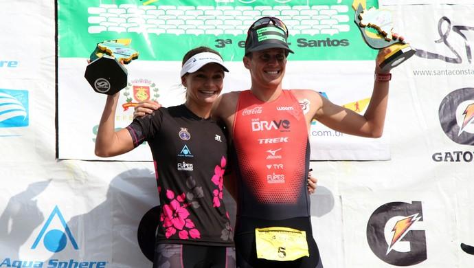 Troféu Brasil de Triatlo 2016 (Foto: Isabela Carrari / Prefeitura de Santos)