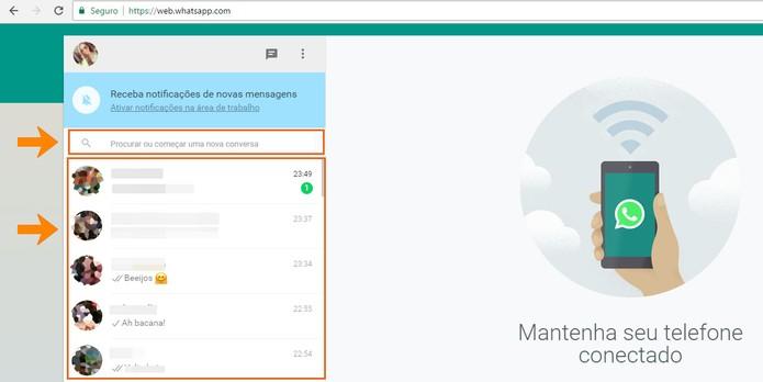 wh02 Como apagar histórico de mensagens de suas conversas no WhatsApp Web