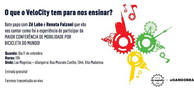 Evento acontece hoje na Vila Madalena (Foto: Reprodução)