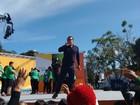 Bem Estar ao vivo de Foz do Iguaçu anima público na Praça da Bíblia