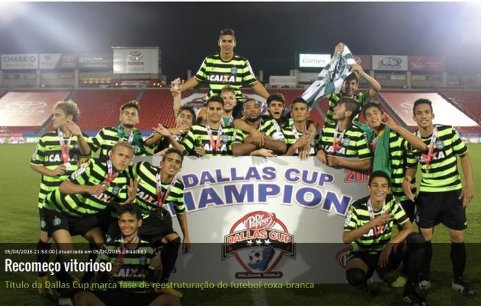 Blog Torcida Coritiba - Copa Dallas