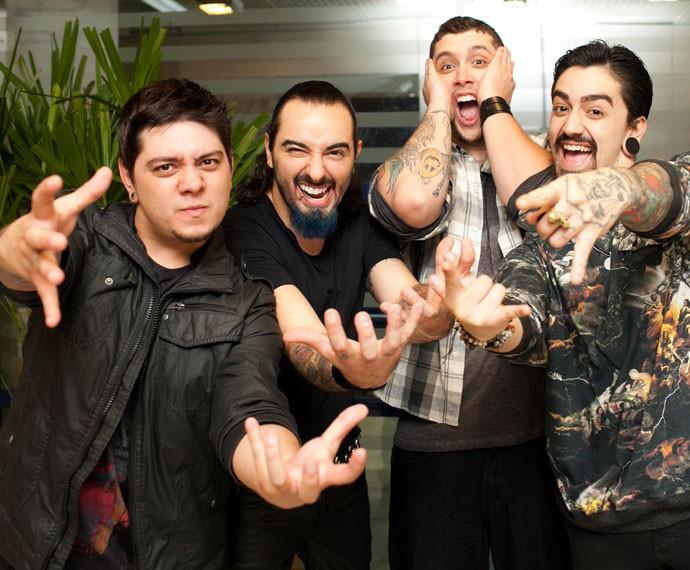 Banda Malta venceu o primeiro SuperStar e agora é indicada ao Grammy por melhor álbum de rock e melhor música brasileira, com o sucesso 'Diz pra Mim' (Foto: Dafne Bastos/Gshow)