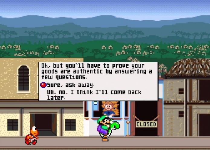 Mario is Missing: jogo era protagonizado por Luigi, que deve resgatar o irmão (Foto: Reprodução/Youtube)