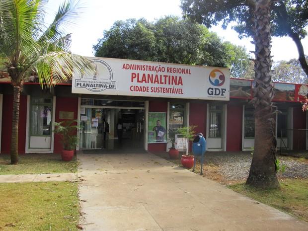 Administração Regional de Planaltina (Foto: Isabella Calzolari/G1)