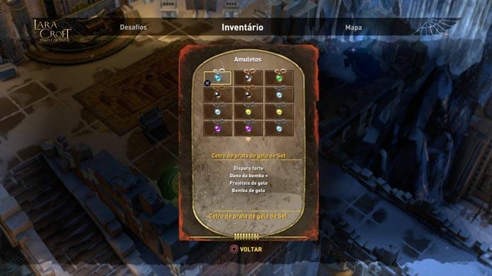 Amuletos são importantes para as batalhas mais complicadas (Foto: Reprodução/Murilo Molina)