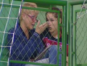 Xuxa e Sasha em Jambeiro (Foto: Reprodução/ TV Vanguarda)