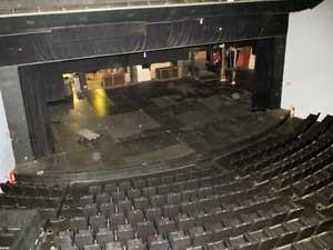 O teatro interno do Centro de Convivência, em Campinas (Foto: Carlos Bassan / PMC)