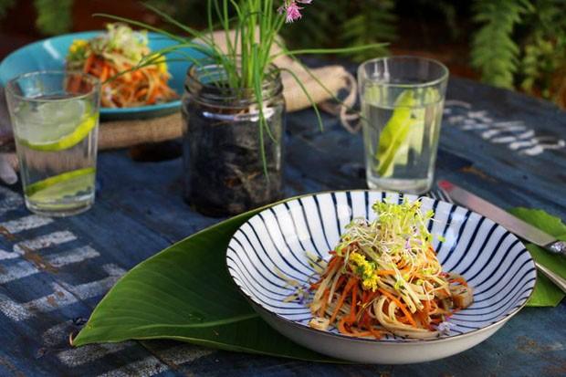 Espaguete de pupunha: receita saudável e prática para o dia a dia (Foto: S Simplesmente)