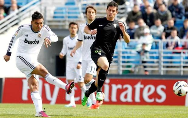 Casemiro Real Madrid Castilla (Foto: Reprodução / Site Oficial)