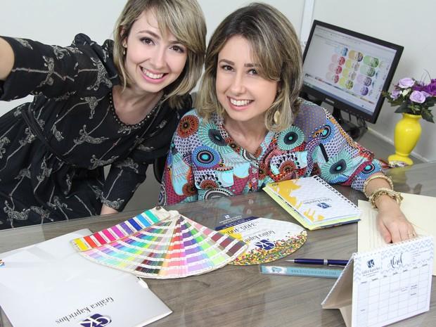 Druciana e Elisabete, parceria além da empresa (Foto: Arquivo Pessoal)