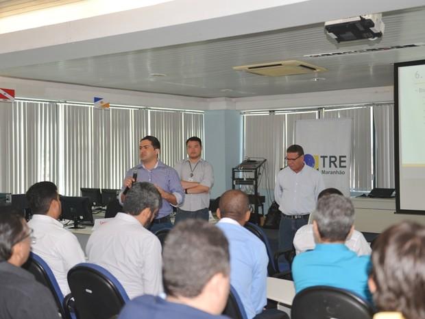 Trabalhos foram abertos nessa segunda-feira (18) (Foto: Divulgação/TRE-MA)