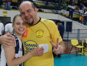 Spencer Lee e Camila Brait (Foto: Flávio Cortez/GLOBOESPORTE.COM)