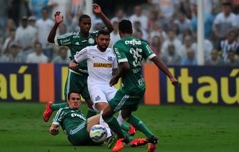 SporTV exibe final da Copa do Brasil entre Santos e Palmeiras nesta quarta