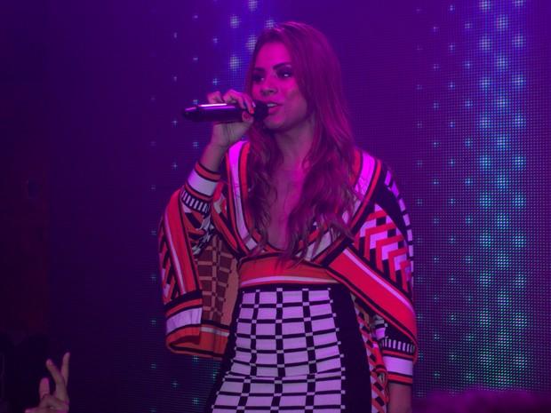 Lexa se apresenta em festa na Zona Oeste do Rio (Foto: Marcello Sá Barretto/ Ag. News)