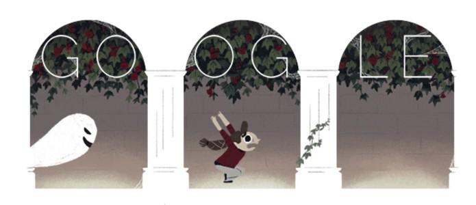 Que susto! Doodle do Google celebra Halloween (Foto: Reproduçã/Google)