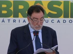 O ministro Patrus Ananias, do Desenvolvimento Agrário (Foto: Reprodução)