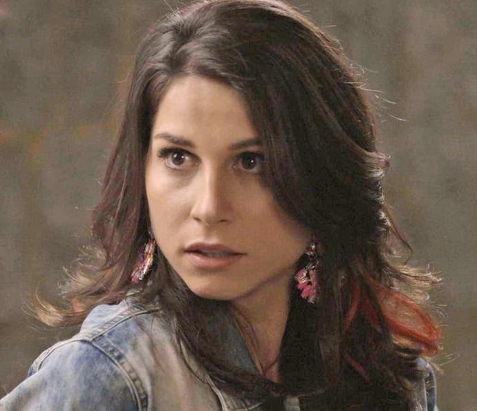 Chandelly Braz é Carmela em 'Haja coração' (Foto: TV Globo)