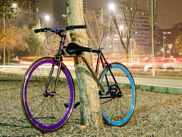 Bicicleta antirroubo criada por chilenos (Foto: Divulgação/Yerka Project)