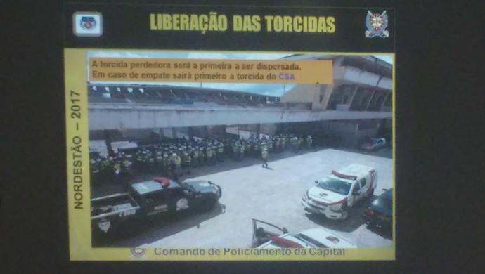 Esquema CSA x CRB Copa do Nordeste (Foto: Raissa Matias/GloboEsporte.com)