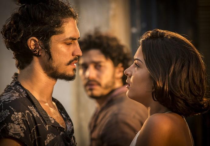 Miguel e Olívia podem se casar até o final de 'Velho Chico' (Foto: Inácio Moraes/ Gshow)