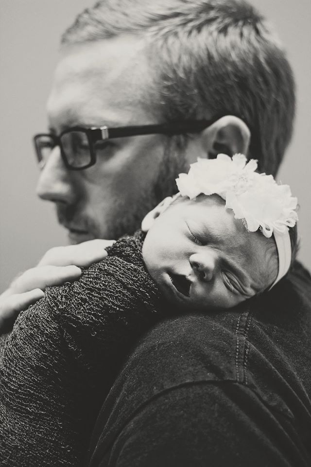 Eleanor e o pai (Foto: Reprodução/ Facebook Natalie Morgan)