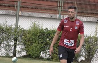Na ausência de Ricardinho, Tupi-MG treina com Mol e Recife nos titulares