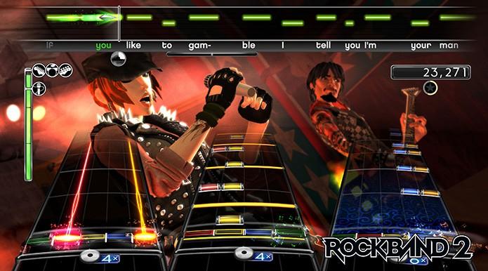 Rock Band: confira as curiosidades sobre o game musical (Foto: Divulgação)