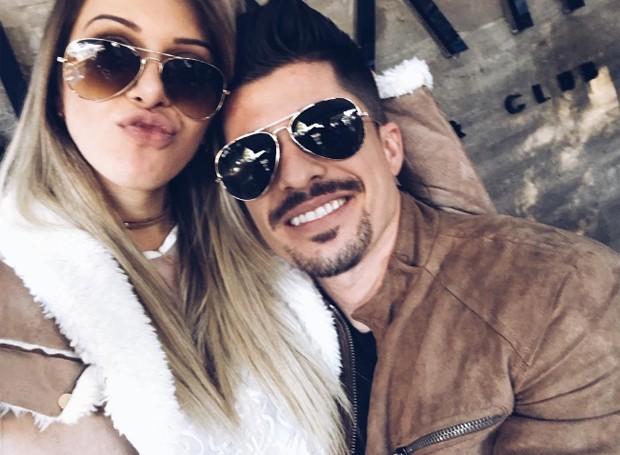 Tatiele Polyana e o namorado, Fernando Gonçalves Urbano (Foto: Reprodução/Instagram)