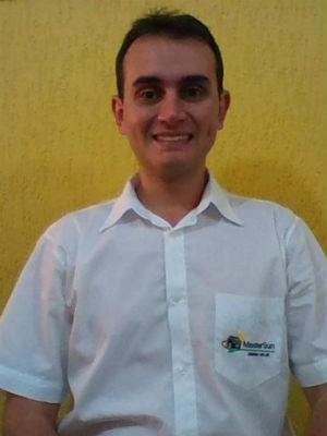 Engenheiro Diego Branco optou pelo sistema solar pelo custo benefício e sustentabilidade (Foto: Arquivo pessoal)