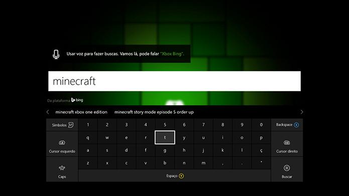 Busque o Minecraft: Story Mode (Foto: Reprodução/Murilo Molina)