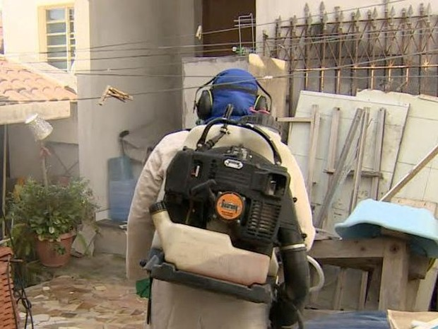 Armadilha dengue São José dos Campos (Foto: Reprodução/TV Vanguarda)