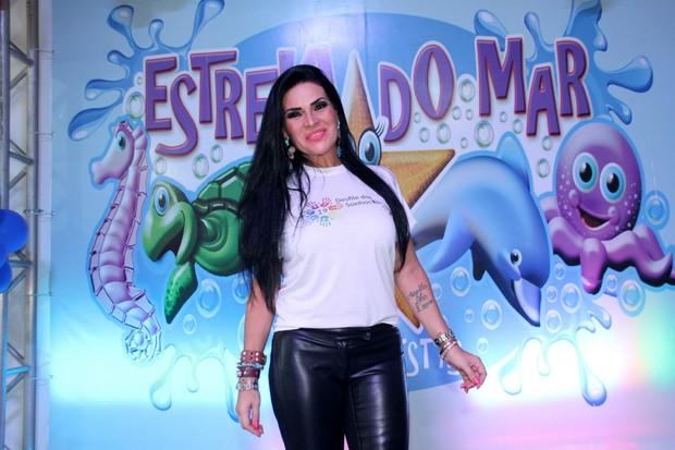 Solange Gomes (Foto: Graça Paes/Photo Rio News)