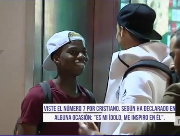 BLOG: Jogador do Betis espera 20 minutos na boca do vestiário para conhecer CR7