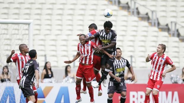 Ceará x Potiguar de Mossoró Copa do Nordeste Castelão (Foto: Alex Costa/Agência Diário)