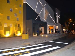 Teatro Castro Mendes, em Campinas (Foto: Fernando Pacífico / G1)