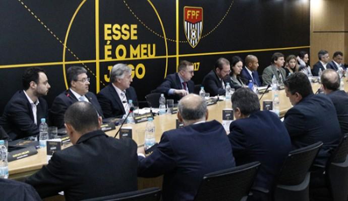 Conselho Técnico - Série A2 (Foto: Divulgação / FPF)