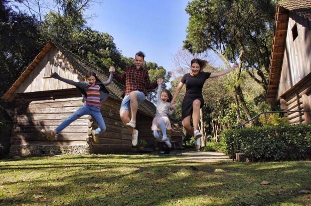 A família de Marcos Piangers (Foto: Arquivo Pessoal)