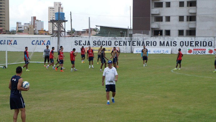 Treino Avaí - CT ABC - Natal-RN (Foto: Augusto Gomes/GloboEsporte.com)