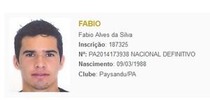BID Fábio Alves (Foto: Reprodução/CBF)