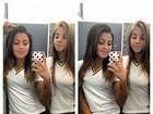 Filha de Romário posta foto com amiga no banheiro do colégio