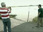 Ministério Público Federal faz vistoria no Rio Muriaé, no RJ