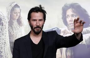 Keanu Reeves em première de filme em Los Angeles, nos Estados Unidos (Foto: Mario Anzuoni/ Reuters/ Agência)