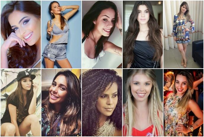 Escolha entre as dez semifinalistas (Foto: Arquivo Pessoal)