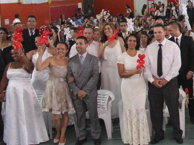 Itaquaquecetuba abre inscrições para casamento comunitário (Foto: Antonio Marcio/Prefeitura de Itaquaquecetuba)