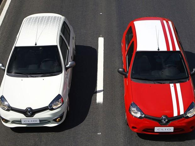 Renault Clio 2013 agora pode ser perosonalizado (Foto: Divulgação)
