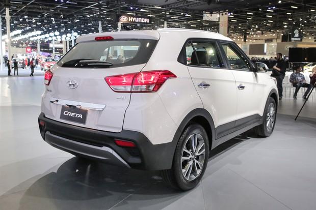 Hyundai Creta no Salão do Automóvel 2016 (Foto: Marcos Camargo/Autoesporte)
